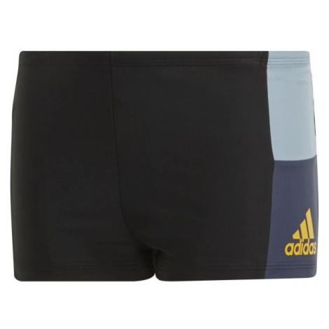 adidas INF CB BX BOY čierna - Chlapčenské plavky