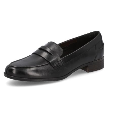 Clarks Hamble Loafer čierna
