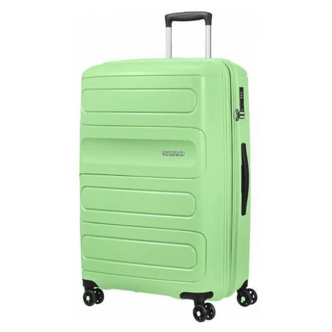 American Tourister Cestovný kufor Sunside 51G EXP 106/118 l - světle zelená