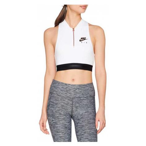 Nike Sportswear Bra Women Crop Top White-L biele 930537-100-L