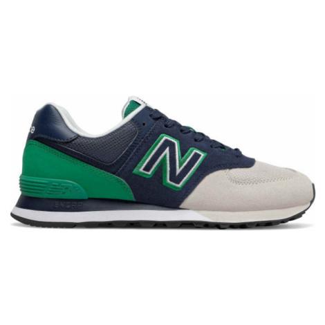 New Balance ML574UPZ zelená - Pánska voľnočasová obuv