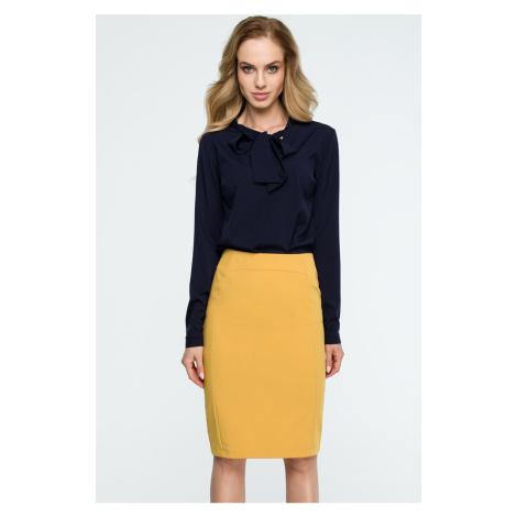 Žltá sukňa S131
