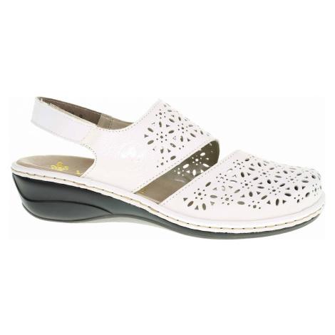 Dámské sandály Rieker 47767-80 weiss 47767-80