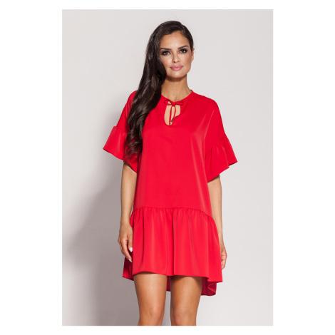 Červené šaty Lila Dursi
