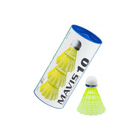 Badmintonové Loptičky Yonex Mavis 10 Yellow (Dóza Po 3 Ks)