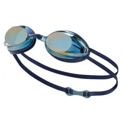 Nike REMORA MIRROR modrá - Plavecké okuliare