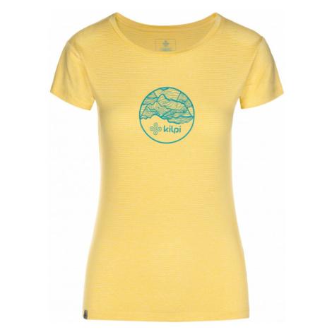 Women's light T-shirt Guilin-w yellow - Kilpi