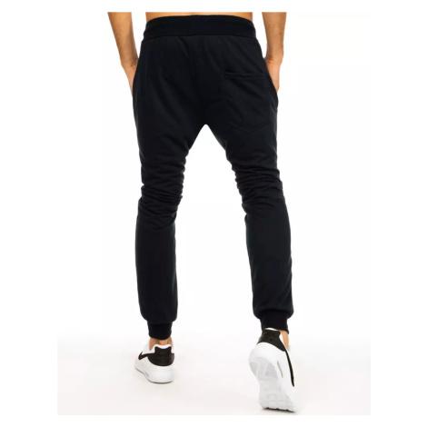 Men´s navy blue sweatpants UX2881 DStreet