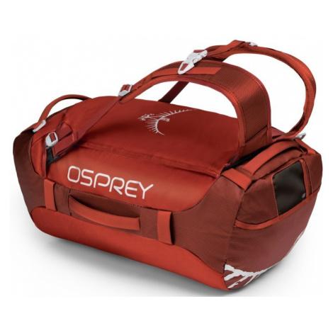 Cestovná taška Osprey Transporter 40 II ruffian red