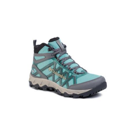 Columbia Trekingová obuv Peakfreak X2 Mid Outdry BL0828 Zelená