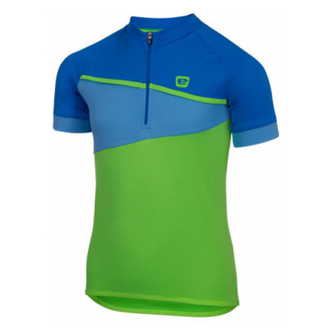 Detský Cyklistický Dres Etape Peddy Zeleno-Modrý