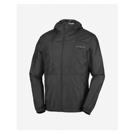 Columbia Flashback Windbreaker Bunda Čierna