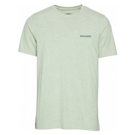 Dockers Tričko  svetlozelená / námornícka modrá
