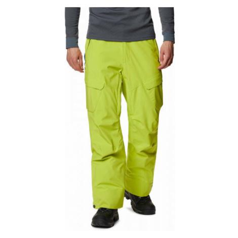 Columbia POWDER STASH PANT zelená - Pánske lyžiarske nohavice