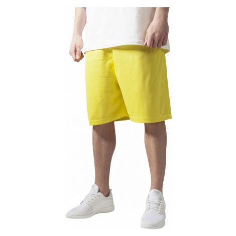Urban Classics Bball Mesh Shorts yellow - Veľkosť:XXL