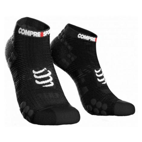 Compressport RACE V3.0 RUN LO čierna - Bežecké ponožky