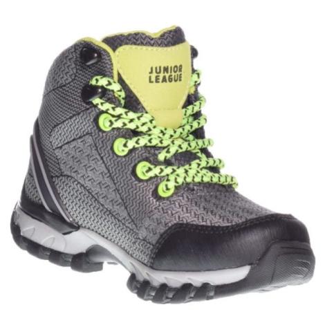 Junior League MARIEFRED tmavo sivá - Detská obuv