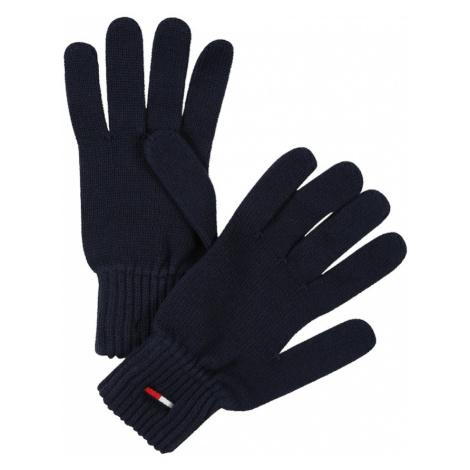 Tommy Jeans Prstové rukavice  tmavomodrá Tommy Hilfiger