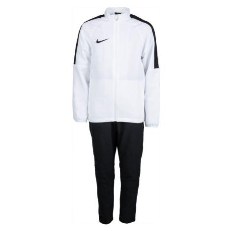 Nike DRY ACDMY18 TRK SUIT W Y biela - Chlapčenská futbalová súprava