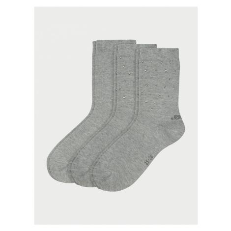 Ponožky s.Oliver S20548-9300 - 3 Pack Farebná