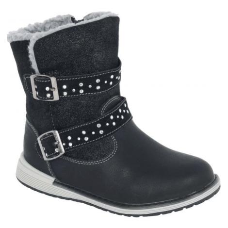 Lotto CYNNA čierna - Detská zimná obuv