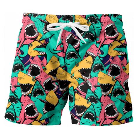 Men's swim shorts Mr. GUGU & Miss GO SHARK ATTACK