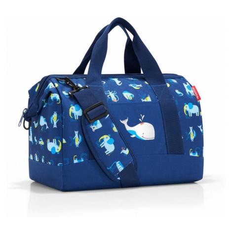 Cestovná taška Reisenthel Allrounder M Kids Abc Friends Blue