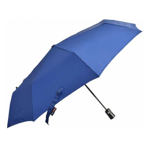Semiline Unisex's Short Auto Open/Close Umbrella 2511Z-9 Navy Blue