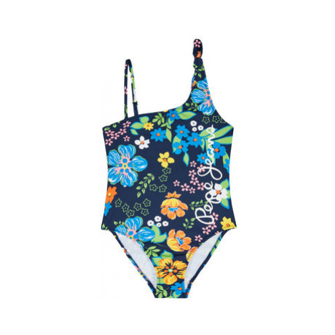 Pepe Jeans Bikiny Flora Swimsuit PGB10317 Tmavomodrá