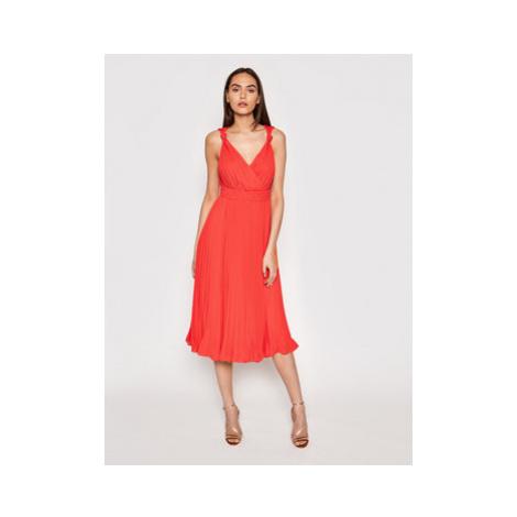 Marciano Guess Večerné šaty 1GG780 8592Z Červená Regular Fit
