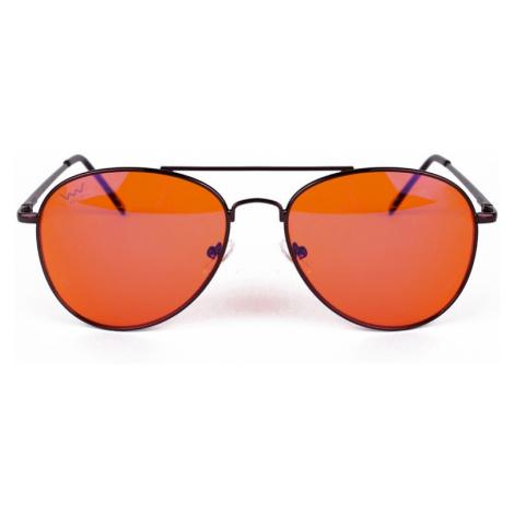 Oranžové slnečné okuliare Daggy Vuch