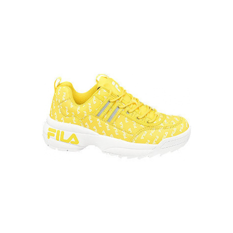Žlté chunky tenisky Fila