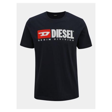 Tmavomodré pánske tričko Diesel