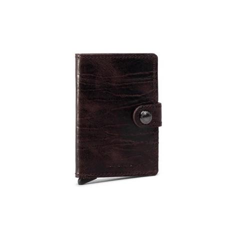 Secrid Malá pánska peňaženka Miniwallet Dutch Martin MDM Hnedá