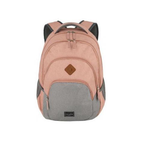 Travelite Basics Backpack Melange Rose/grey
