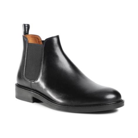 Členkové topánky Gino Rossi MI07-A962-A791-26 Prírodná koža(useň) - Lícova