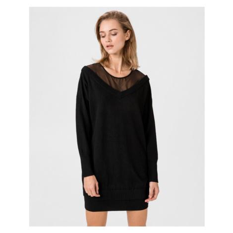 Guess Crystal Šaty Čierna
