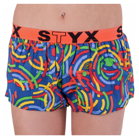 Women's shorts Styx art sports rubber multicolored (T659)