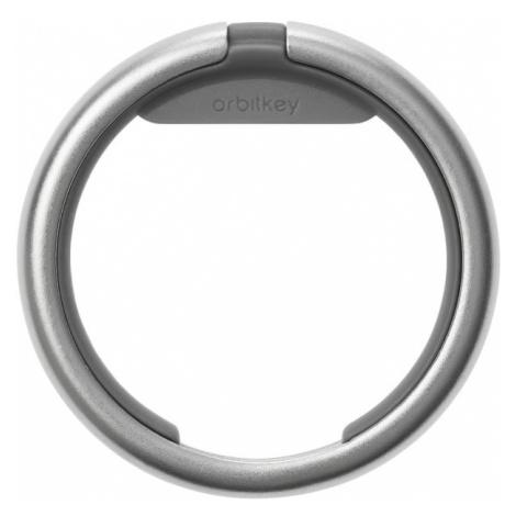 Orbitkey Šikovný krúžok na kľúče Orbitkey Ring - strieborný a šedý