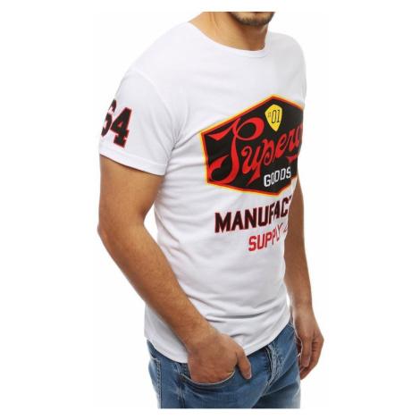White RX3971 men's T-shirt DStreet