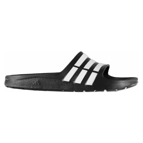Adidas Duramo Junior Sliders Black/White