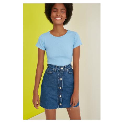 Rifľové sukne Trendyol
