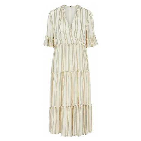 Y.A.S Košeľové šaty 'Fabiola'  svetložltá / kaki