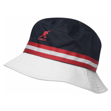 Kangol Stripe klobúk Navy/Red