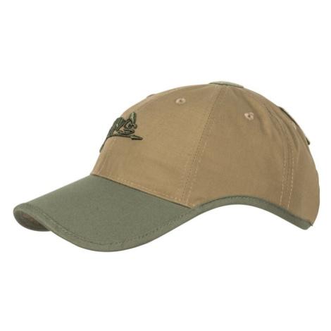 "Šiltovka ""baseballka"" HELIKON-TEX® Logo Cap Rip Stop - Coyote, Olive Green"