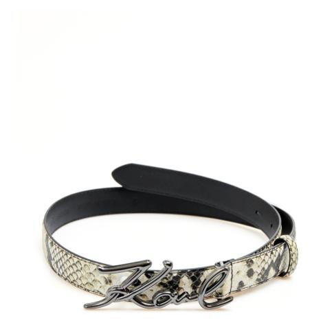 Opasok Karl Lagerfeld K/Signature Snake Belt