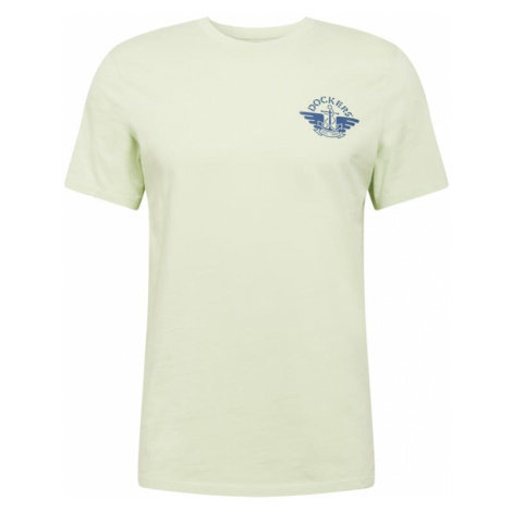Dockers Tričko  námornícka modrá / pastelovo zelená