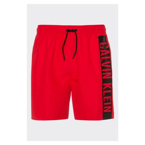 Calvin Klein pánske plavky - červená