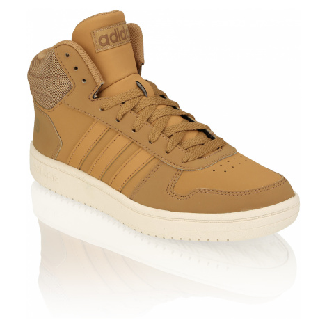 Adidas HOOPS 2.0 MID hnedá