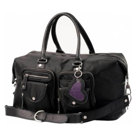 petit amour Prebaľovacia taška 'Lissy'  čierna